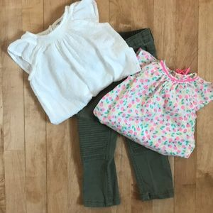 Toddler Outfit (2 Onesies & 1 Pants)